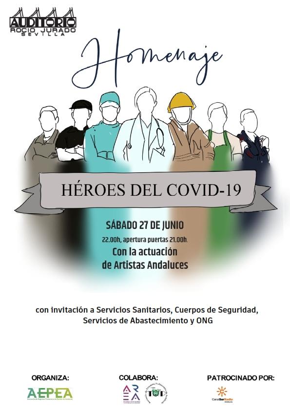 Concierto homenaje a los héroes deCovid-19